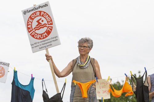 August 8th 2020 Save Our Ponds Protest - copyright Joshua Bratt